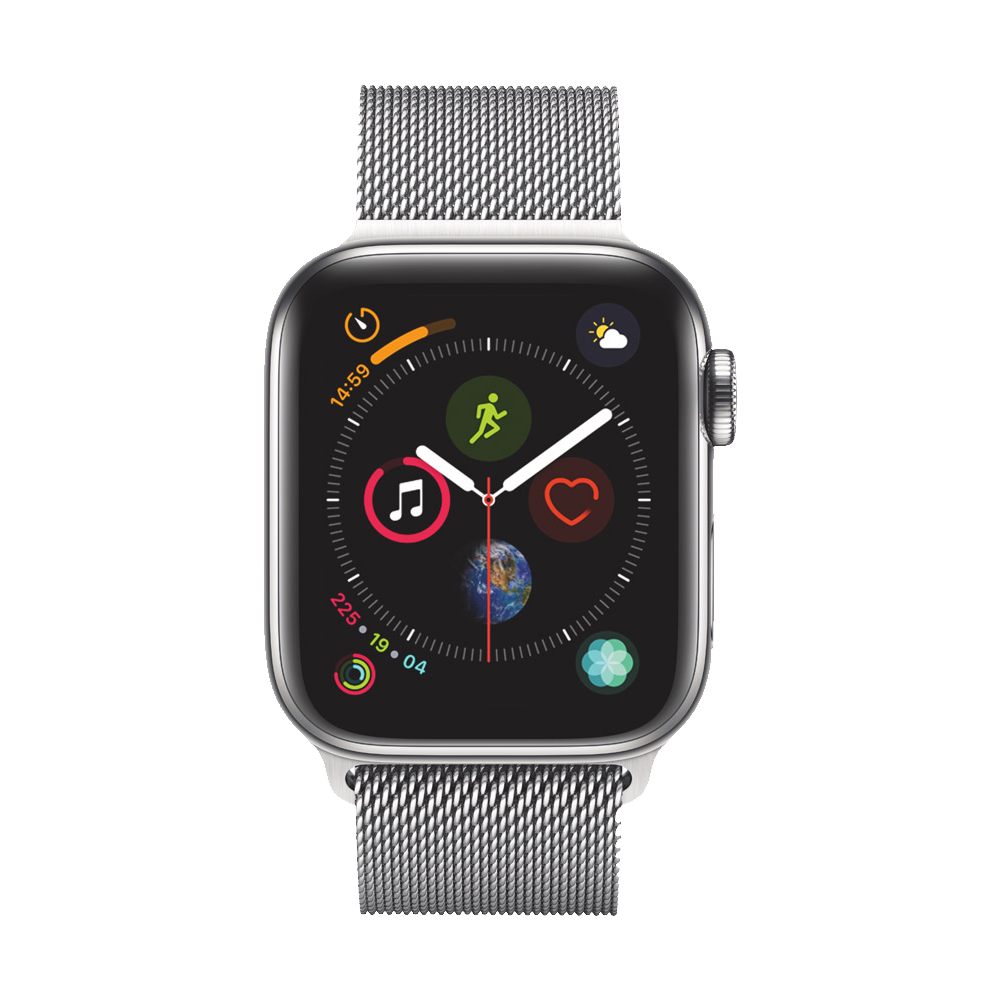 AppleWatch Series4 GPS+Cellular Stainless Steel Case with Milanese Loop