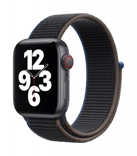 Apple Watch SE GPS + Cellular, 40mm Space Gray Aluminium Case with Charcoal Sport Loop   Unicorn Store