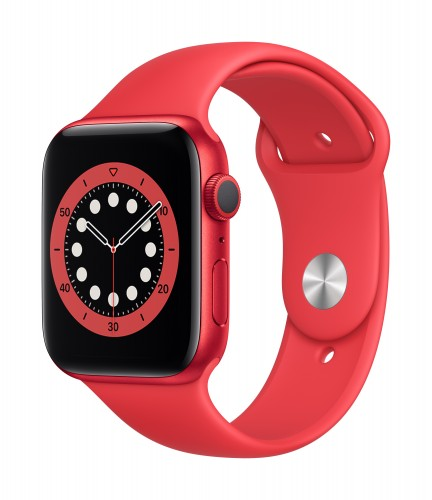 Apple Watch Series 6 GPS, 40mm PRODUCT(RED) Aluminium Case with PRODUCT(RED) Sport Band - Regular | Unicorn Store
