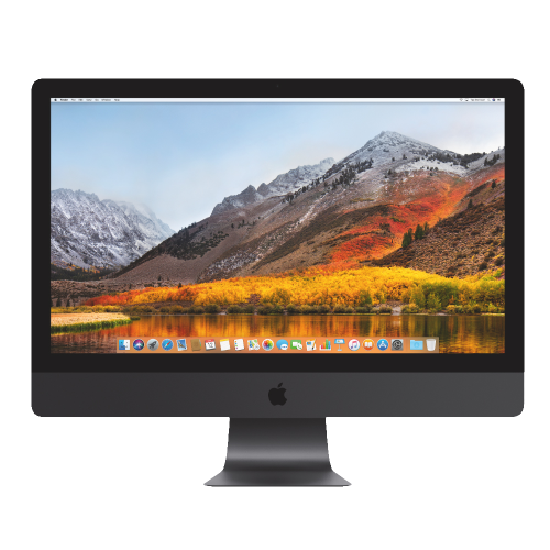 27-inch iMac Pro- 3.2GHz-Processor 8-core Intel Xeon W i5 5K-Retina 1TB Hard Drive