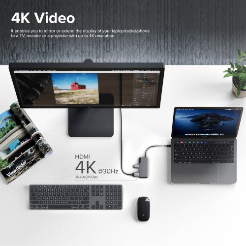 Alogic USB-C Fusion Core 5 in 1 Hub