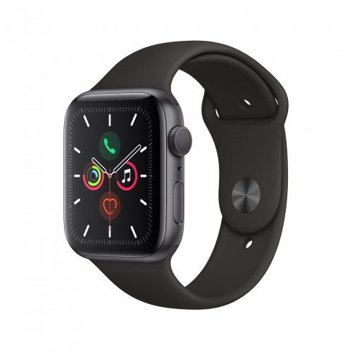 Apple Watch Series 5 GPS 40mm Space Grey Aluminium Case with Black Sport Band