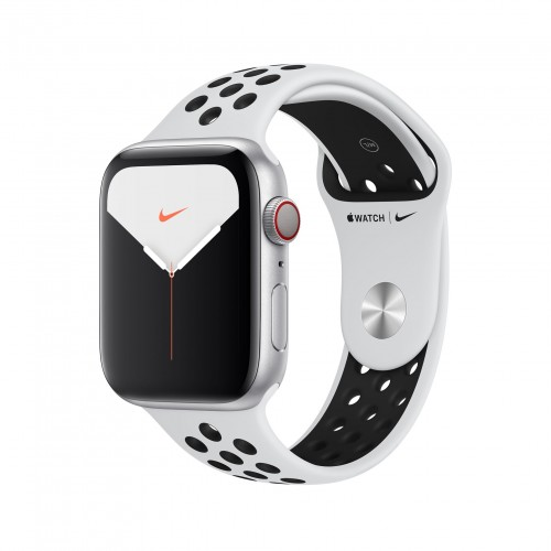 Apple Watch Nike Series 5 GPS+Cellular 40mm Silver Aluminium Case with Platinum/Black Sport Band