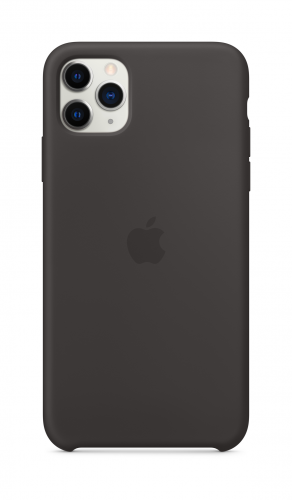 Apple iPhone 11 Pro Max Silicone Case - Black