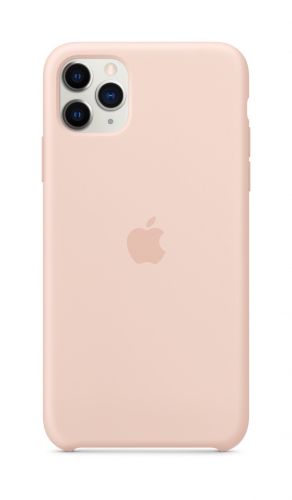 Apple iPhone 11 Pro Max Silicone Case - Pink Sand