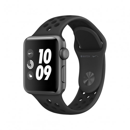AppleWatch Nike+ Series3 GPS + Cellular, 42mm Space Grey Aluminium Case with Anthracite/Black Nike Sport Band