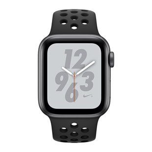 AppleWatch Nike+ Series4 GPS, 40mm Space Grey Aluminium Case with Anthracite/Black Nike Sport Band
