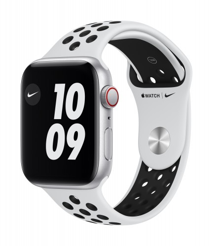 Apple Watch Nike SE GPS, 40mm Silver Aluminium Case with Pure Platinum/Black Nike Sport Band - Regular | Unicorn Store